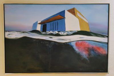 Løsning Kirke - Maleri af Henrik Højlund